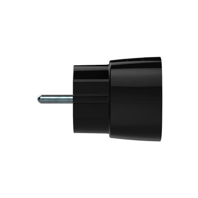 Умная розетка со счетчиком AJAX SOCKET черная
