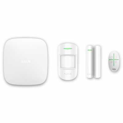 Расширенный комплект беспроводной сигнализации Ajax StarterKit white