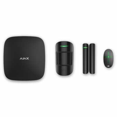 Расширенный комплект беспроводной сигнализации Ajax StarterKit black