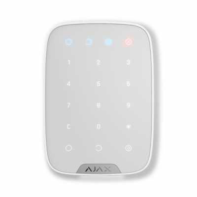 Беспроводная сенсорная клавиатура Ajax Keypad white