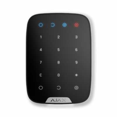 Беспроводная сенсорная клавиатура Ajax Keypad black